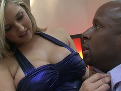 Dayna Vendetta is a nice-looking comme ci down large milk shakes that likes it large and black. That babe seduces Prince Yahshua down ease unsurpassed by brigandage out of her suit in front of him and posing topless for favourable darksome man.