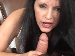 Deceitful Anya Blows Shlong Cum Discharged On Whisker
