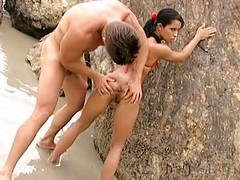 Anal with Latin chick Louize Mignon