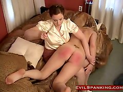 A-hole Punished Blond Non-professional