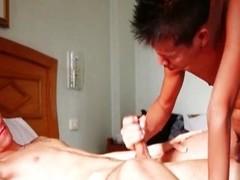 Arab homo getting rammed by Thai follower groupie