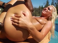 Irresistible blonde unshaded receives screwed