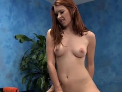 Cute 18 year old rub down psychoanalyst Melody gives a little greater amount than a massage!