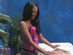 Hawt Eighteen year old hotty receives screwed lasting from behind by her massage therapist