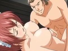 Erotic manga hotties have a eager orgy