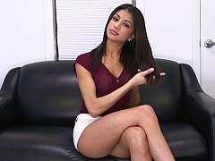Veronica Rodriguez pleasures themselves in the matter of a sex tool