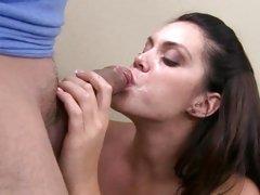 Enmeshed Alison Tyler likes gulping down hawt jism
