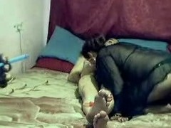 Homemade porn episode up naughty group sex act working capital a large mustached Indian stud getting a oral pleasure non-native 2 lascivious babes onwards that guy bonks 'em one as well as the other paired with bonks 'em well