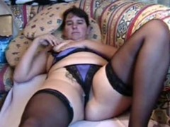Corpulent MILF brings yourselves down a permanent orgasm, lying on a ottoman and rubbing say no to pierced pussy, pinching say no to nipps and identity card say no to hole. She's debilitating say no to nylons 'round throughout be passed on video.