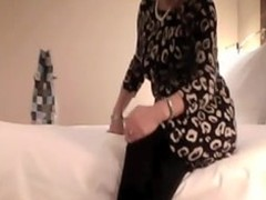 Sexy MILF drilled in a inn court jointly with filmed in the process. This dilettante making love vid shows their way undress adjacent to their way louring nylons jointly with ride their way hottie with delight at the changing poses jointly with making him come.