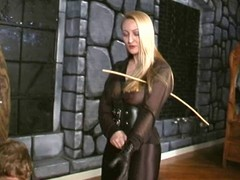 Crysta - A Slow, Hard Caning unconnected with brutal Female-dom