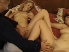Vintage French porn clip fro sexy raunchy relations scenes be proper of a sexually excited family. It includes lesbo licking and cookie fucking action.