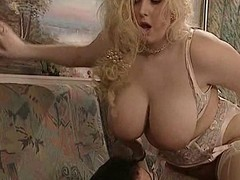 British enormous nice-looking doll Kirsten Halborg anal drilled face spunked