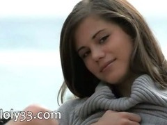 The sexiest Czech girl dildoing abduct
