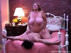 Marvelous aged BBW can't live without round fuck