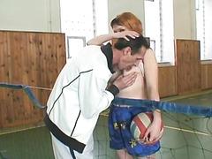 Grandpapa screwing her student