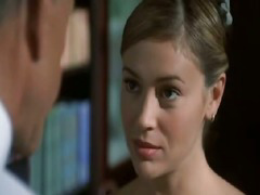 Alyssa Milano - Rub-down the Diamond Hunters