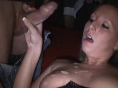 AO Creampie Bang Strangers in Cinema