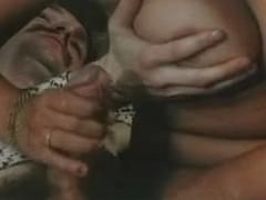 Swedish Retro Tanned breasty mama