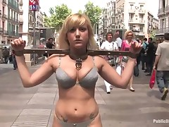 Busty prisoner used as A sex slave and screwed almost thraldom.