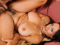 Super hot mother I'd like in all directions fuck acquires her untidy shaggy slit creamed on !