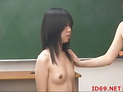 Japanese AV Engrave has her cunt touched