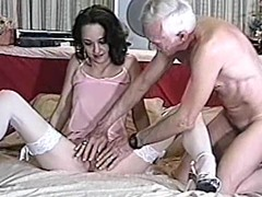 Marvelous milf is doing a great job on his pecker