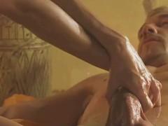 Exotic glum turkish massage