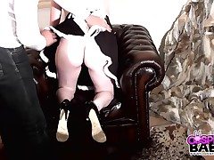One of Lucy's Elysian beings, Virgo likes to please and supposing needed be punished. This time all round is somebody to chastise, spank, dominate and fuck her. That Spoil is shackled and reachable to serve the brush taskmaster.